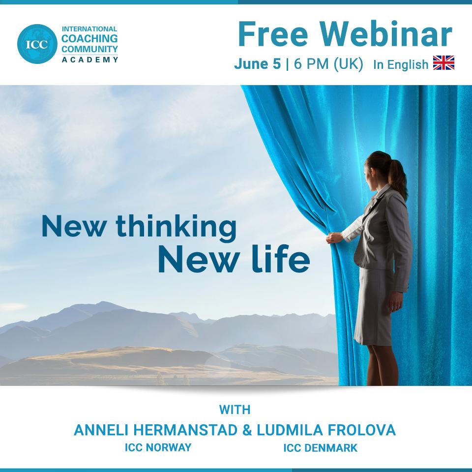 Free Webinar: Coaching - New thinking, new life