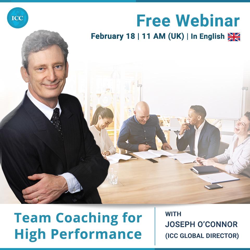 Free Webinar: Team Coaching for High Performance