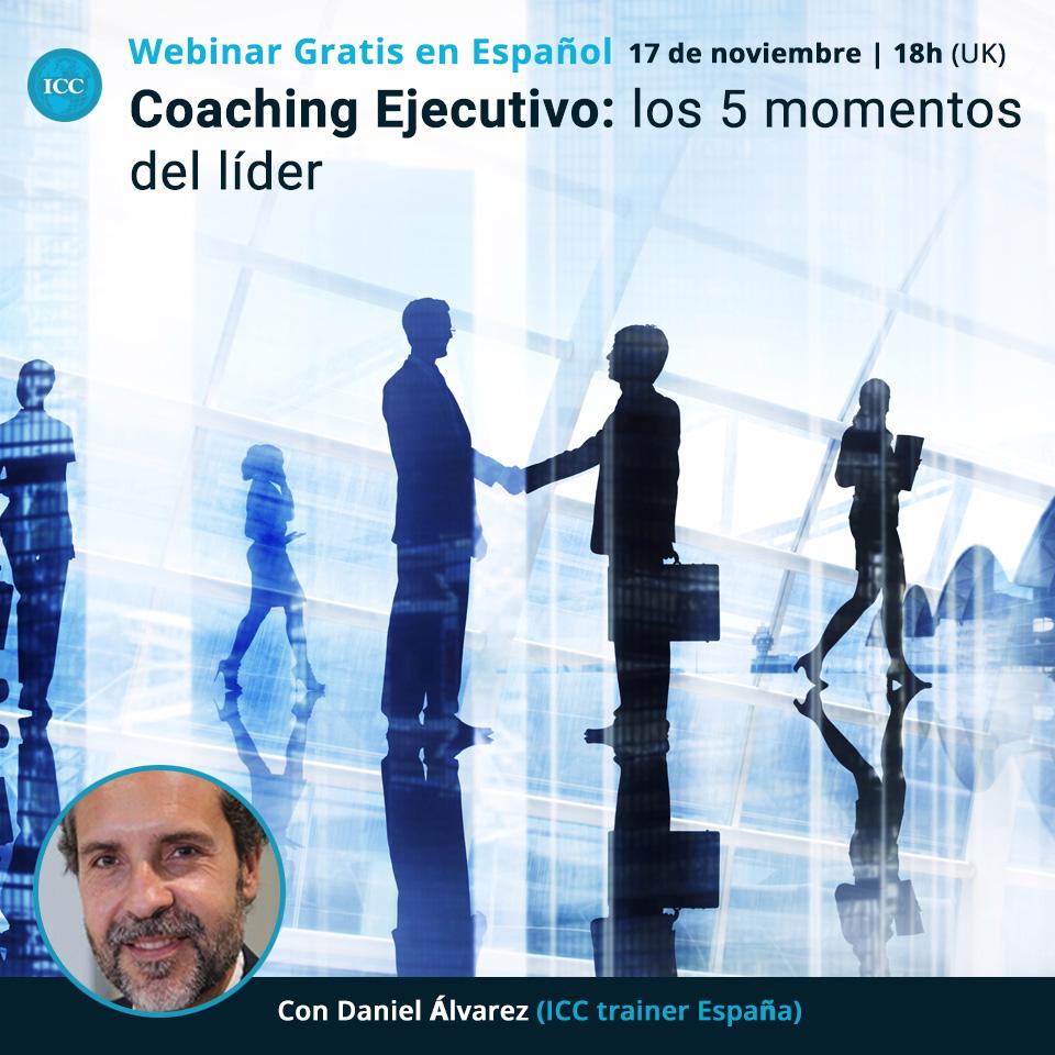 Webinar gratis: Coaching Ejecutivo - los 5 momentos del líder